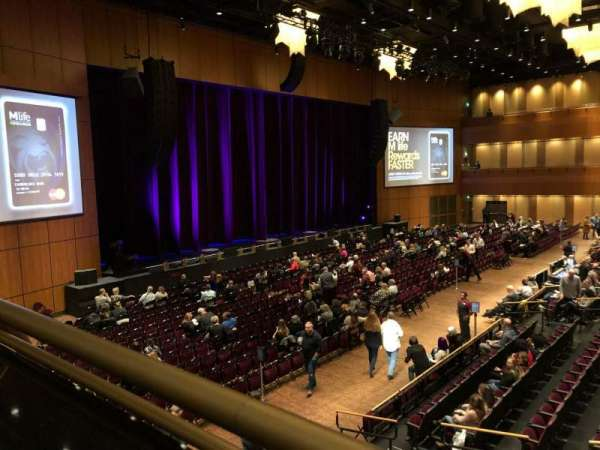 The Theater at MGM National Harbor, section: 202, rangée: A, siège: 9