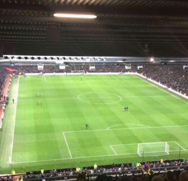 Old Trafford, section: W3102