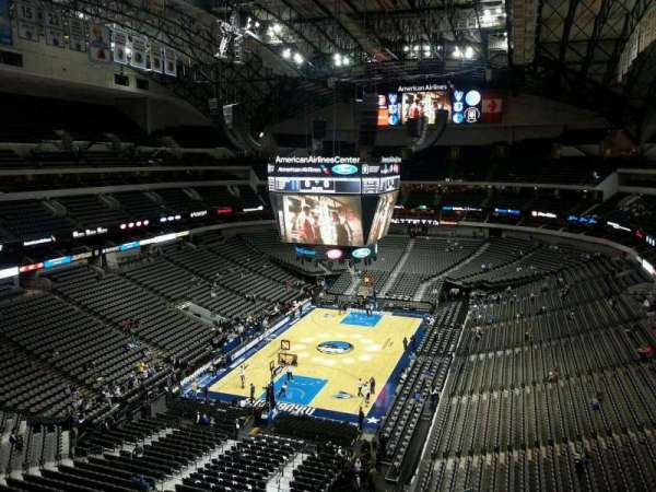 American Airlines Center, section: 316, rangée: C, siège: 12