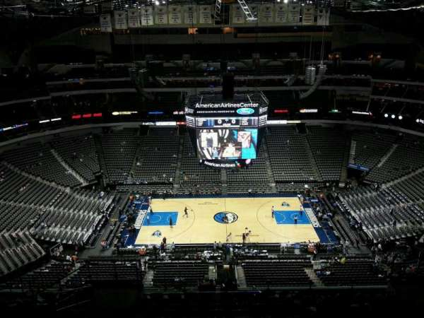 American Airlines Center, section: 326, rangée: R, siège: 11
