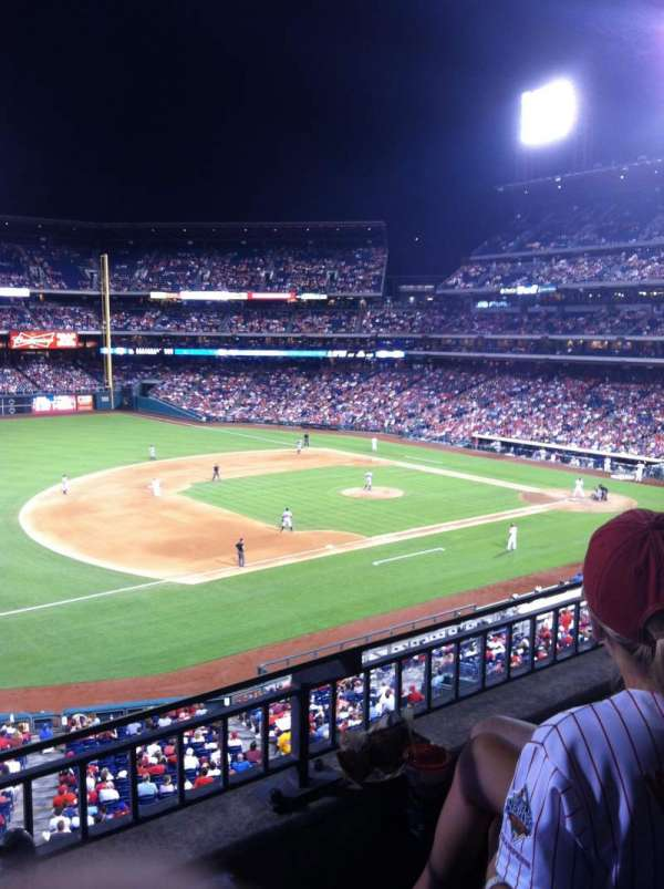 Citizens Bank Park, section: 232, rangée: 3, siège: 7