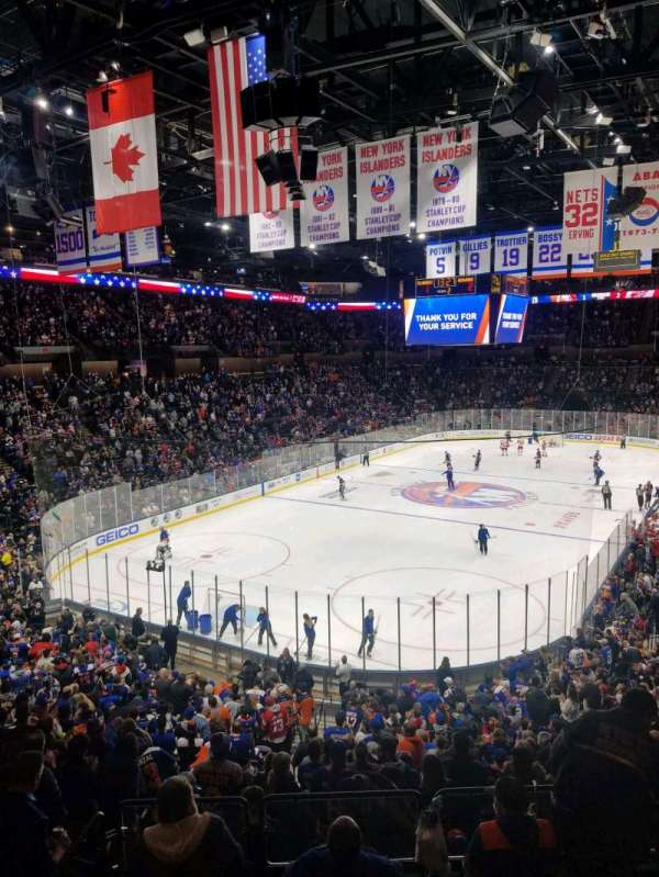 Nassau Veterans Memorial Coliseum, section: 230, rangée: 1, siège: 1