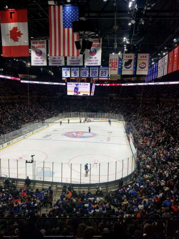 Nassau Veterans Memorial Coliseum, section: 231, rangée: 1, siège: 1