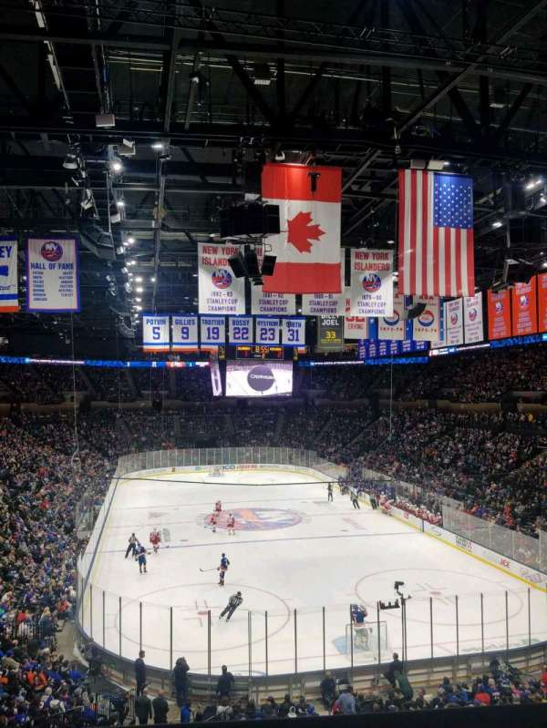 Nassau Veterans Memorial Coliseum, section: 235, rangée: 1, siège: 1