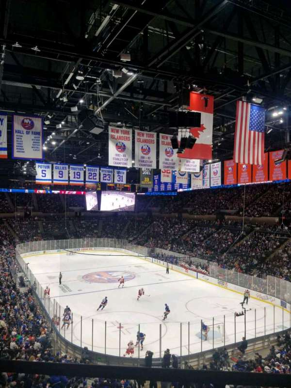 Nassau Veterans Memorial Coliseum, section: 236, rangée: 1, siège: 1