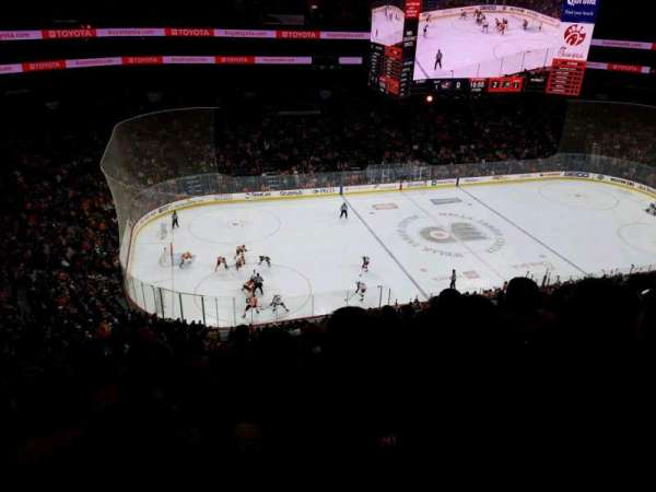 Wells Fargo Center, section: 223, rangée: 8, siège: 6