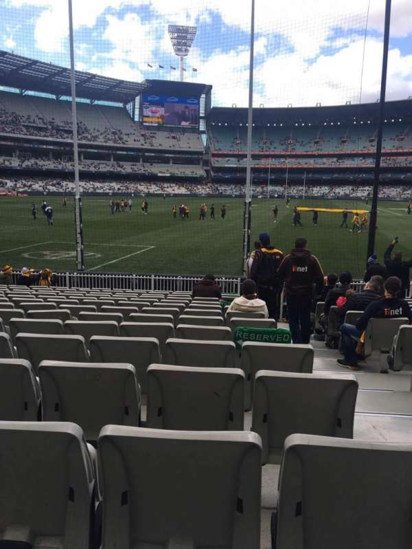 Melbourne Cricket Ground, section: M32, rangée: O, siège: 2