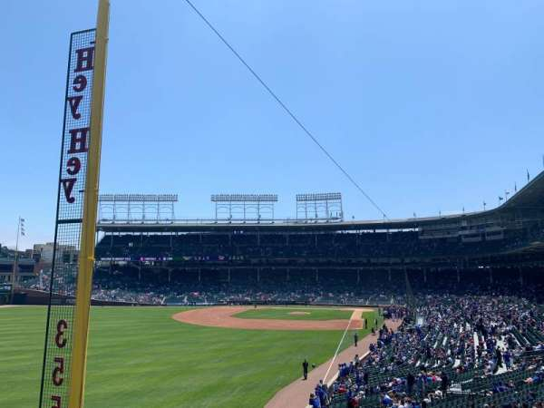 Wrigley Field, section: Standing Room Only, rangée: SRO