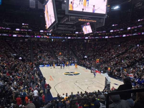 Vivint Smart Home Arena, section: 14, rangée: 17, siège: 1