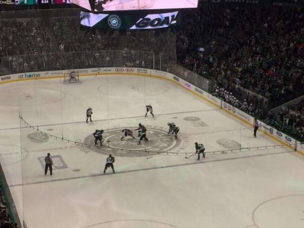 American Airlines Center, section: 303, rangée: BB, siège: 7