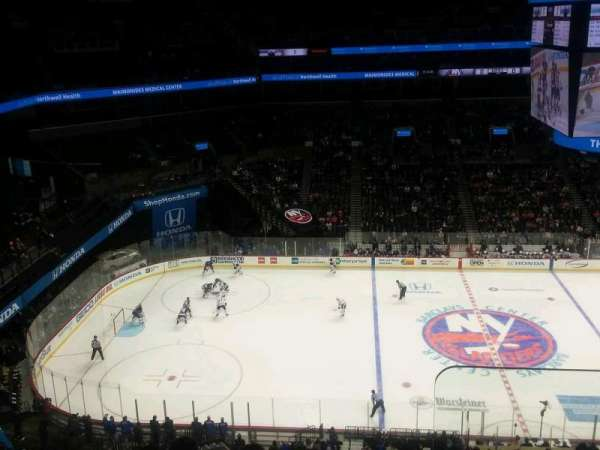 Barclays Center, section: 226, rangée: 8, siège: 1
