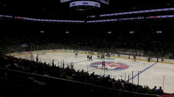 Barclays Center, section: 20, rangée: 19