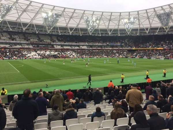 London Stadium, section: 133, rangée: 17, siège: 346