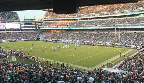 Lincoln Financial Field, section: LS72, rangée: 1, siège: 1
