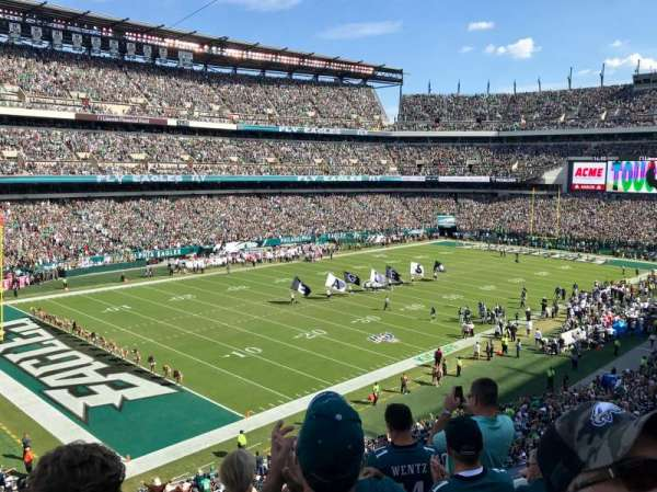 Lincoln Financial Field, section: C35, rangée: 5, siège: 16