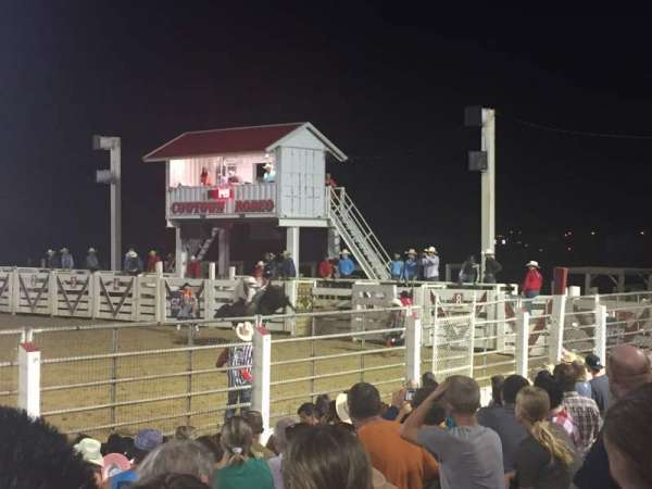 Cowtown Rodeo, section: General Admission, rangée: 8 , siège: South Bleachers