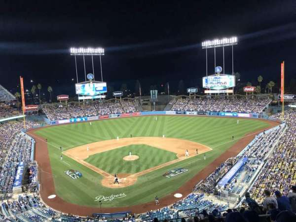 Dodger Stadium, section: 2RS, rangée: O, siège: 17