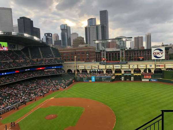Minute Maid Park, section: 427, rangée: 5