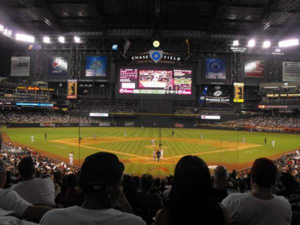 Chase Field, section: 122, rangée: 35