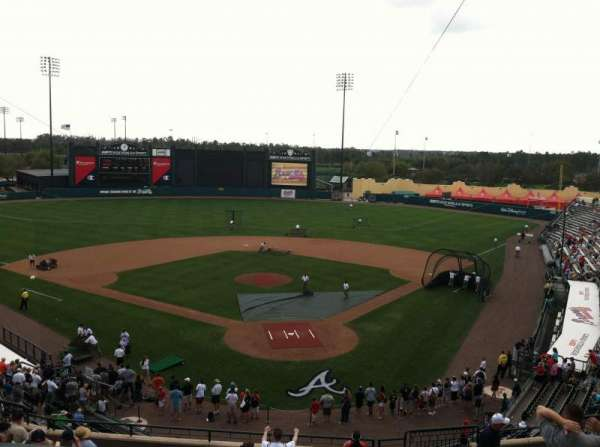 ESPN Wide World of Sports Complex, section: Press Box