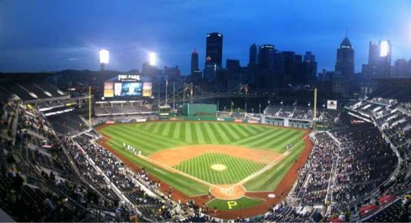 PNC Park, section: Press Box