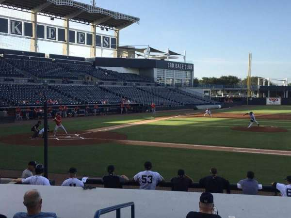 George M. Steinbrenner Field, section: 106, rangée: Jj, siège: 20