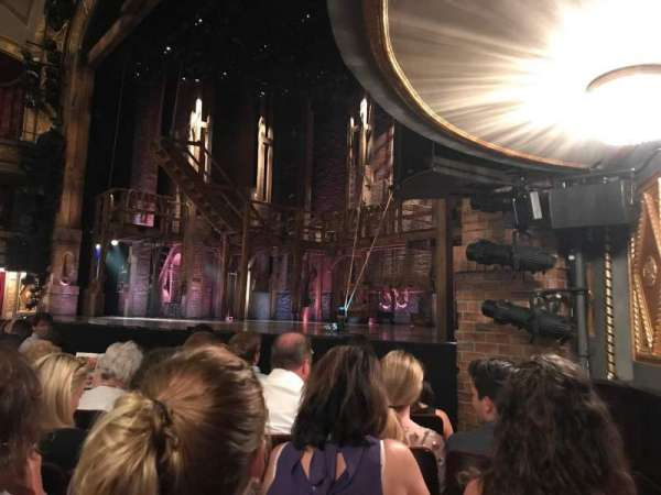 Richard Rodgers Theatre, section: Orchestra R, rangée: E