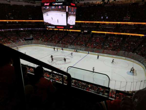 Honda Center, section: 408, rangée: C, siège: 16