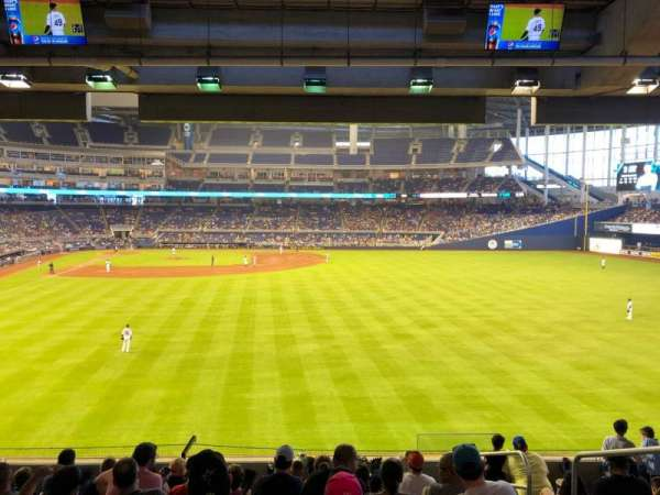 Marlins Park, section: 39, rangée: 9, siège: 3