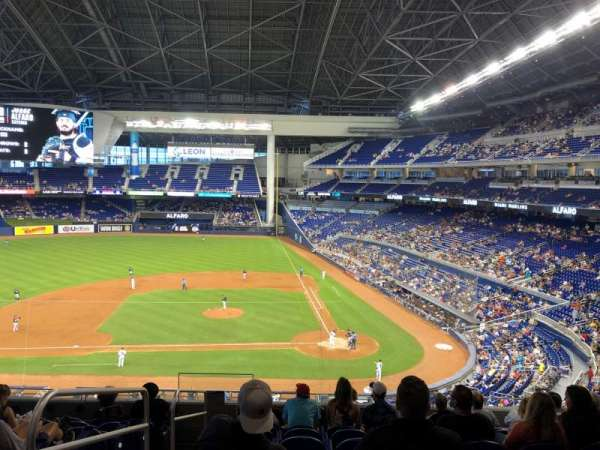 Marlins Park, section: 219, rangée: 9, siège: 17