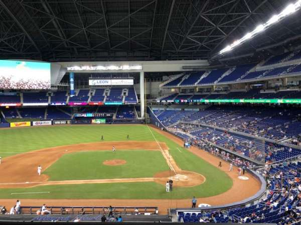 Marlins Park, section: 219, rangée: 1, siège: 15