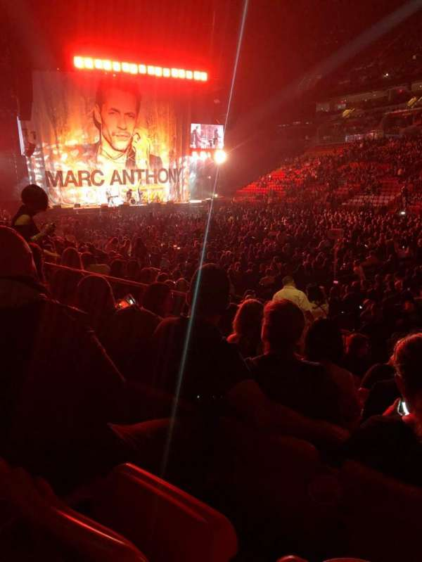 American Airlines Arena, section: 116, rangée: 12, siège: 1