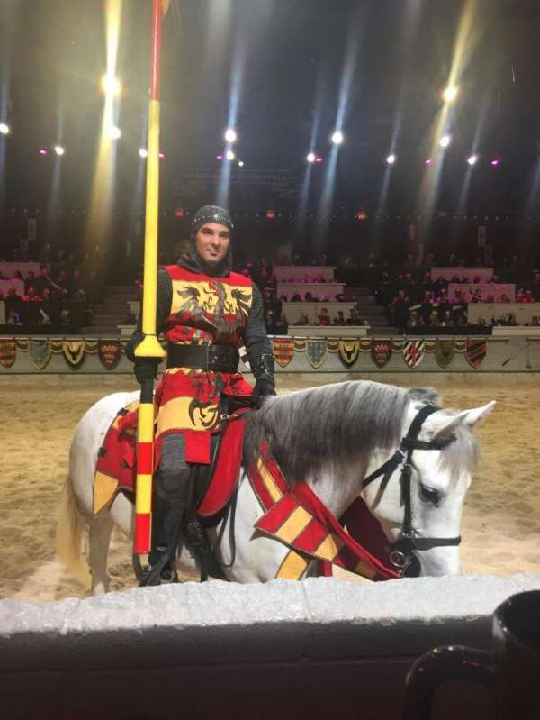Medieval Times, section: Queens, rangée: 1