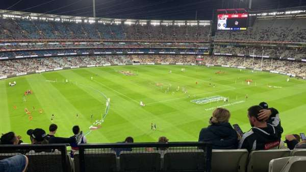 Melbourne Cricket Ground, section: Q52, rangée: C, siège: 19
