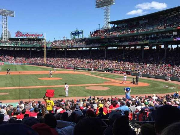 Fenway Park, section: Field Box 57