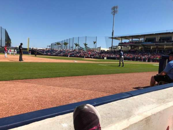FITTEAM Ballpark of the Palm Beaches, section: 102, rangée: A, siège: 8