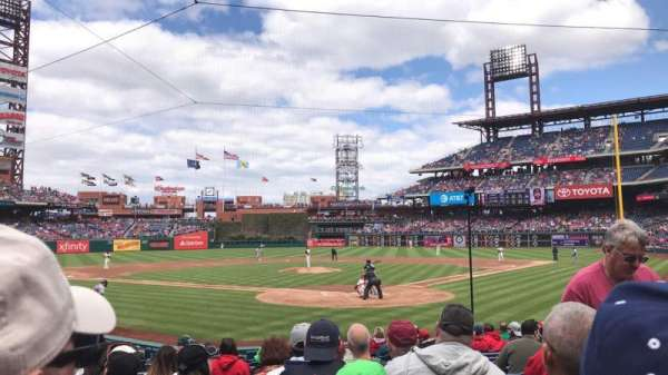 Citizens Bank Park, section: C, rangée: 14, siège: 3
