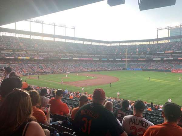 Oriole Park at Camden Yards, section: 11, rangée: 5