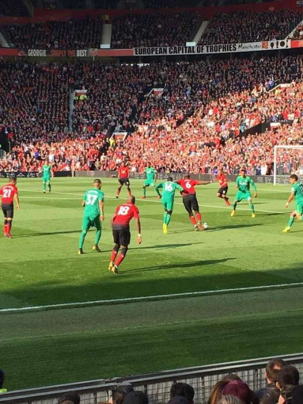 Old Trafford, section: STH125