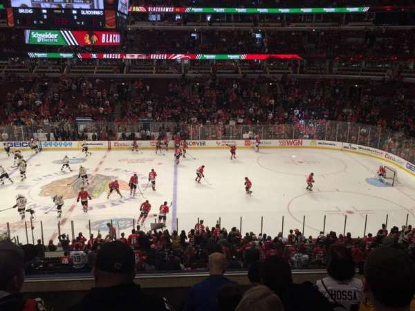United Center, section: 217, rangée: 5, siège: 12