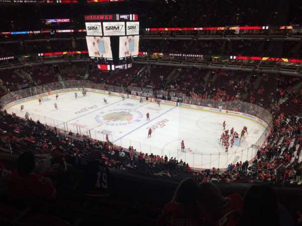 United Center, section: 314, rangée: 5, siège: 7