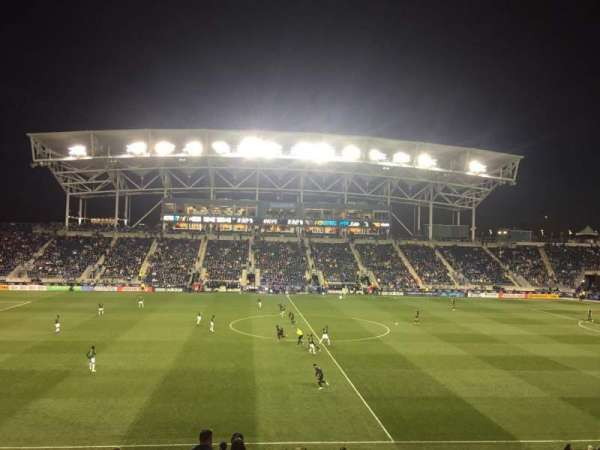 Talen Energy Stadium, section: 128, rangée: Y, siège: 1
