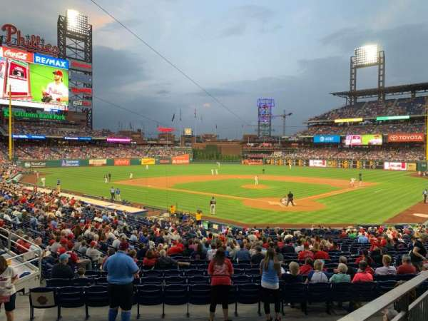 Citizens Bank Park, section: 125, rangée: 27, siège: 8