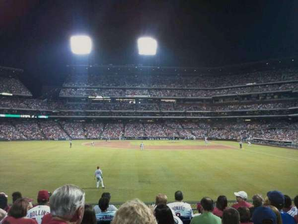 Citizens Bank Park, section: 143, rangée: 9, siège: 14