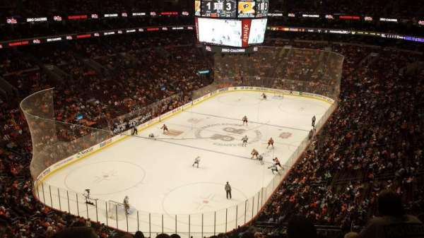 Wells Fargo Center, section: 209, rangée: 8, siège: 8