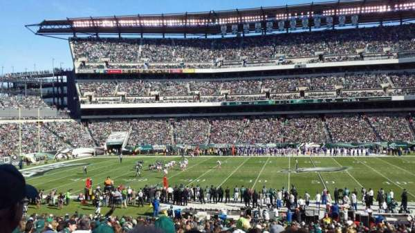 Lincoln Financial Field, section: 101, rangée: 31, siège: 17
