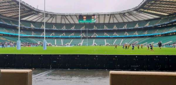 Twickenham Stadium, section: L14, rangée: 2, siège: 103
