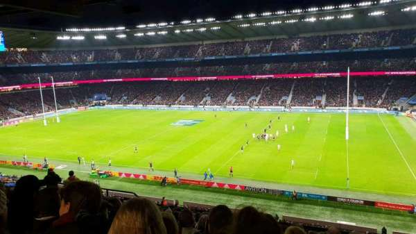 Twickenham Stadium, section: M3, rangée: 70, siège: 67