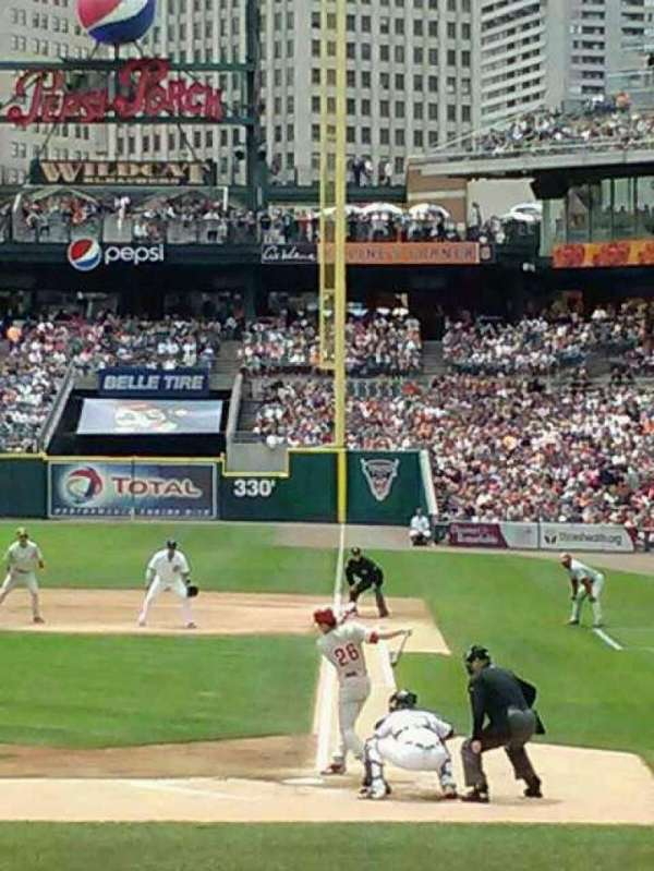 Comerica Park, section: 132