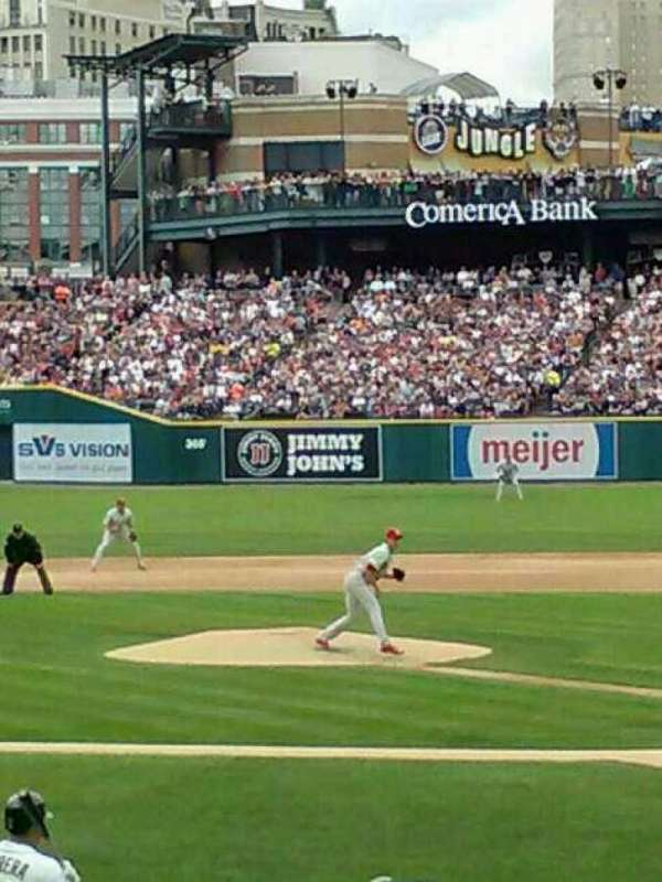 Comerica Park, section: 136